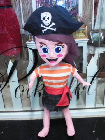 Pinata Pirate Girl Custom
