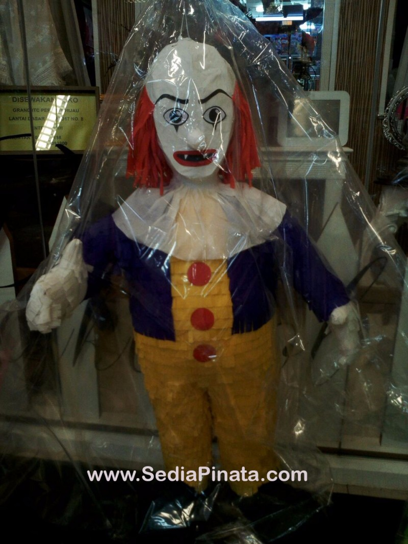 Pinata Badut serem / clown